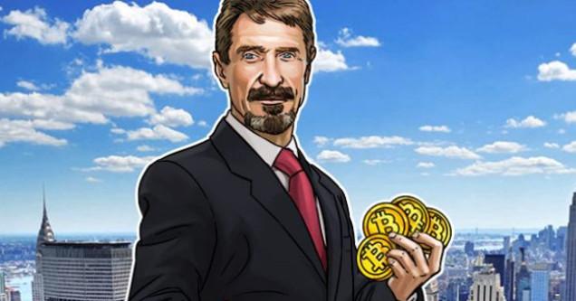 McAfee crypto Bitcoin