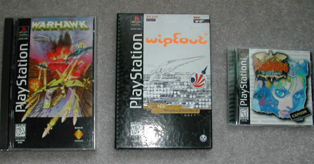 PlayStation 1 cases