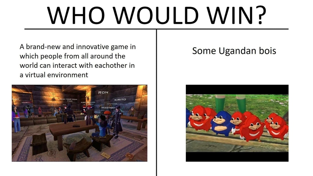 Ugandan Knuckles Is A Hilarious Meme Thats Taken Gaming By Storm