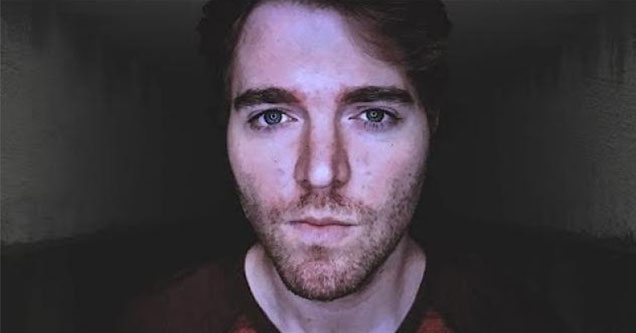 Webcam screenshot of Shane Dawson