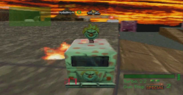Twisted Metal PS1 screenshot