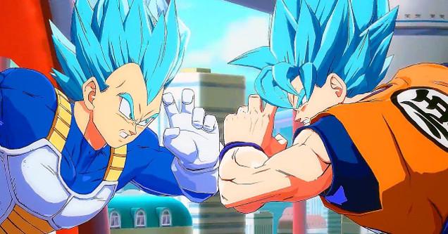 Dragon Ball FighterZ art.