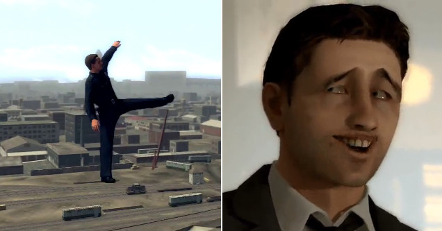 DP023 funny game glitches in L.A. Noire and Heavy Rain.