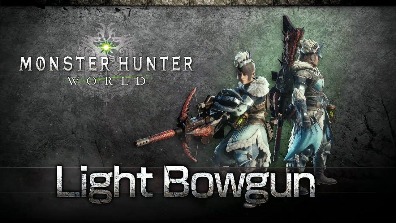 Monster Hunter World Light Bowgun.