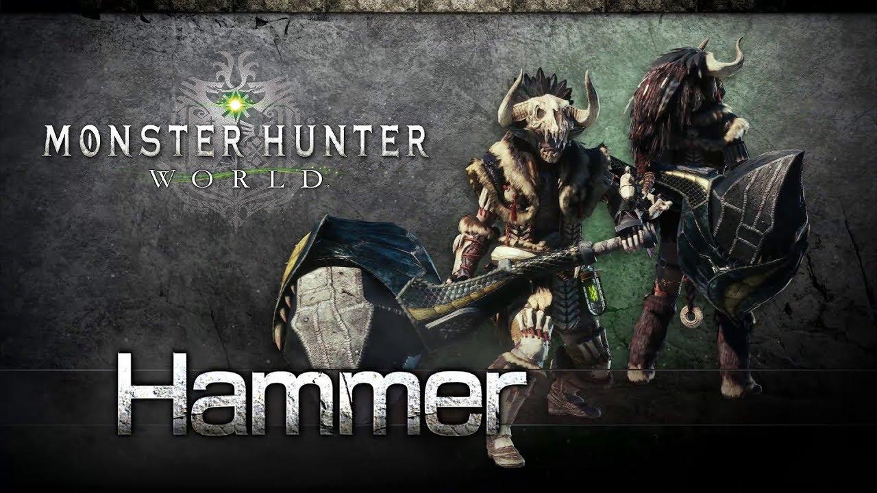MonsterHunterWorld Hammer