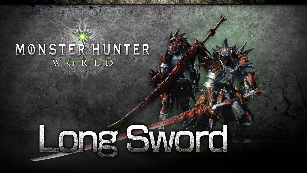 MonsterHunterWorld Long Sword.