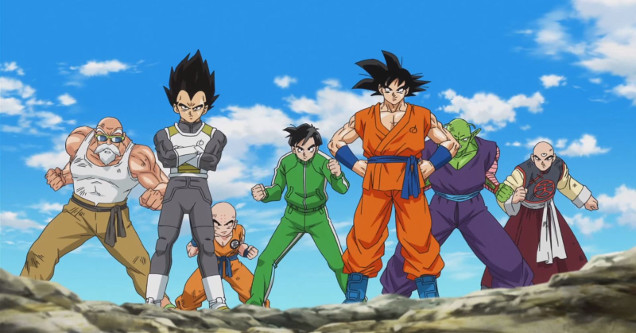 Dragon Ball FighterZ characters.