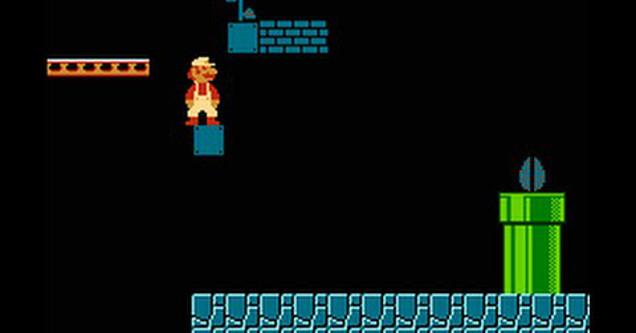 Super Mario Bros. world 4-2.