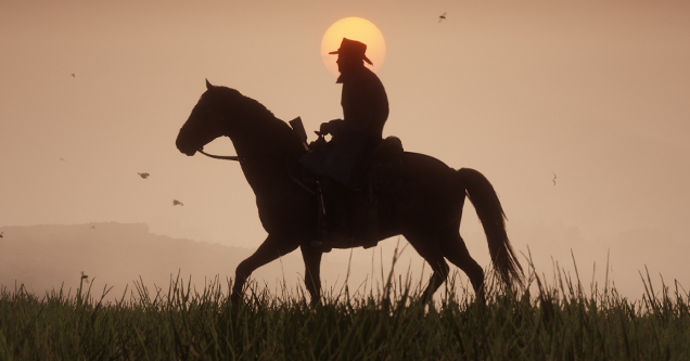 Red Dead Redemption 2 February 2018 screenshot.