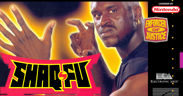 Shaq-Fu game cover art.