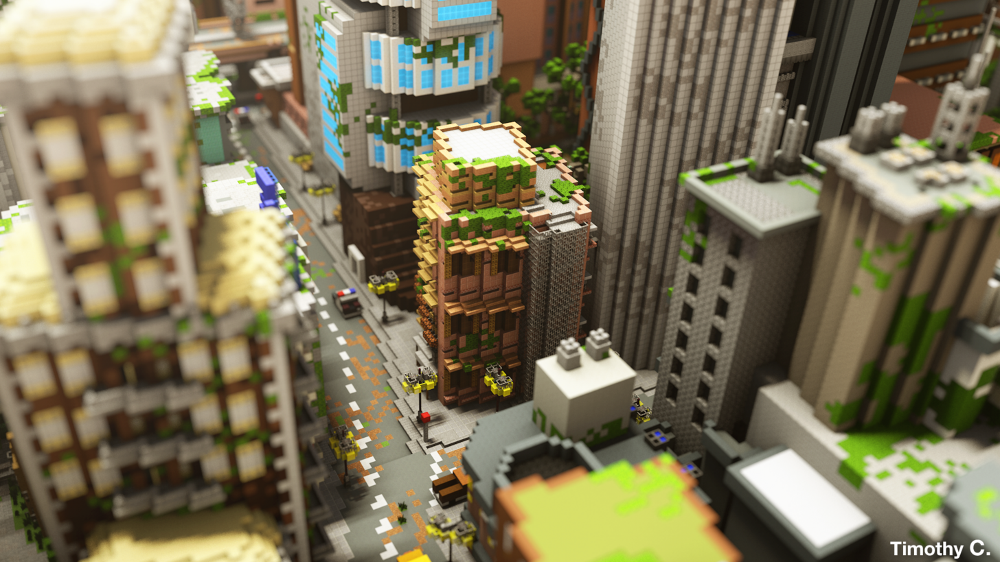 This Is The Largest Minecraft World Ever Made, Took 8 Months ...