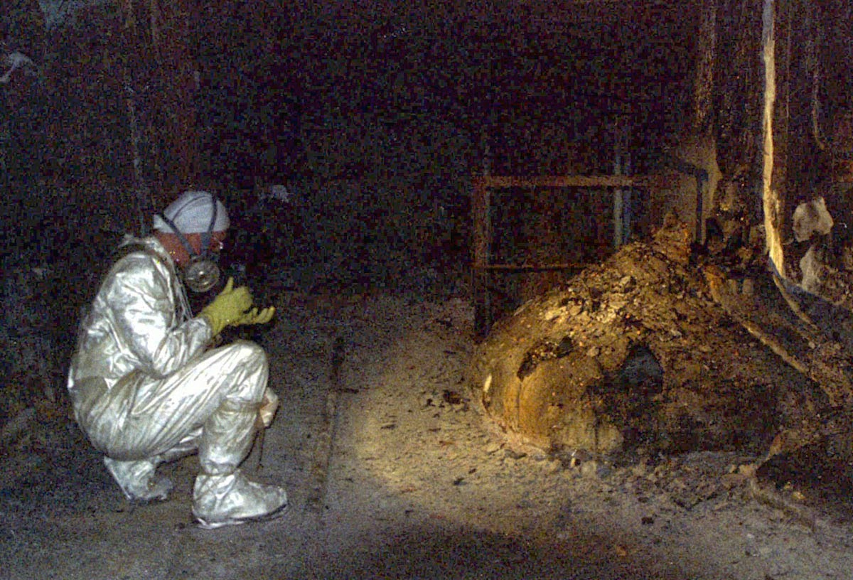 Chernobyl - the elephants foot picture