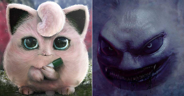 Pokemon characters in real life.