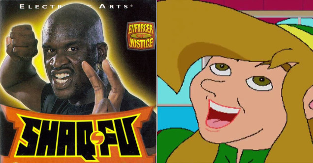 Worst games including Shaq Fu and Zelda.