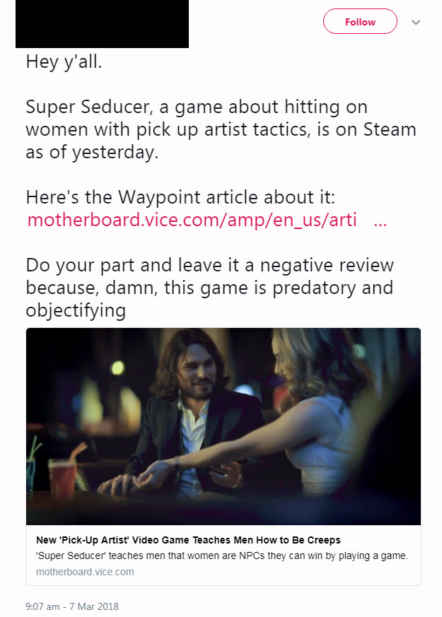 Super Seducer controversy.