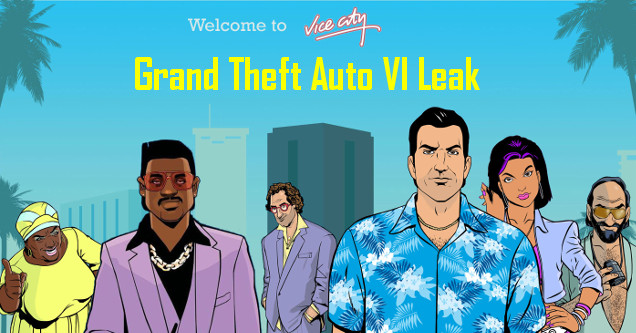 Grand Theft Auto VI Vice City art.