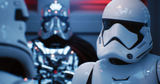 Star Wars ray tracing Unreal Engine demo.