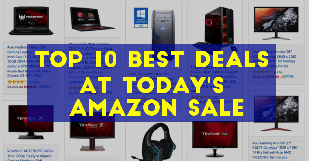 Amazon PC Gaming Sale March 2018.