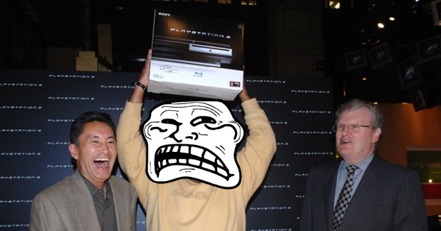 PS3 bad launch.