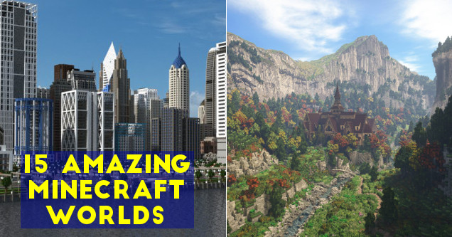Amazing minecraft world screenshots.