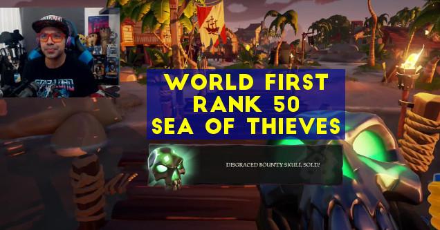 Rank 50 Sea of Thieves Prod1gyX.