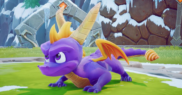Spyro the Dragon PS4 screenshot.