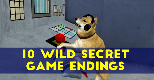 Secret video game endings Silent Hill 2 dog.