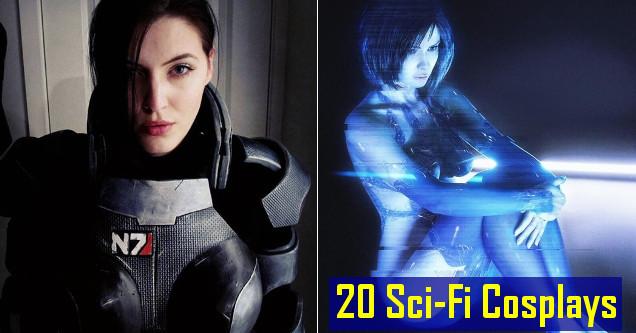 Sci-fi cosplays.