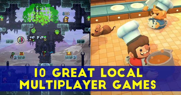 Local multiplayer games.