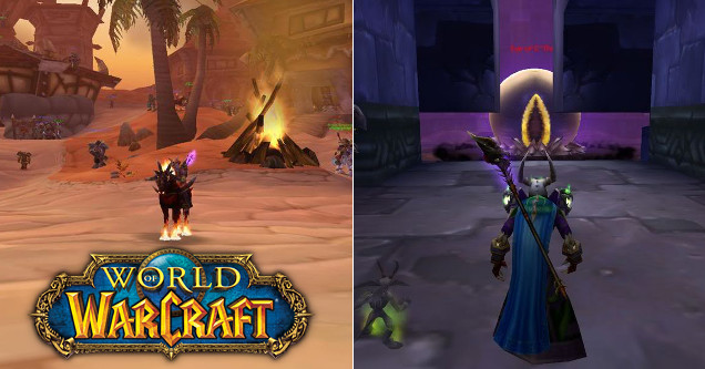 World of Warcraft vanilla screenshots.