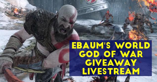 God of War giveaway at eBaum's World.