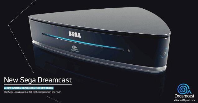 SEGA Dreamcast 2 concept art.