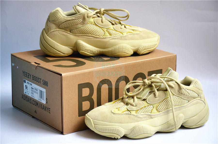 The thing I like about the Yeezy 500s is that they re a  500 shoe that  looks like they were stained while mowing the lawn. 9d0a16e10