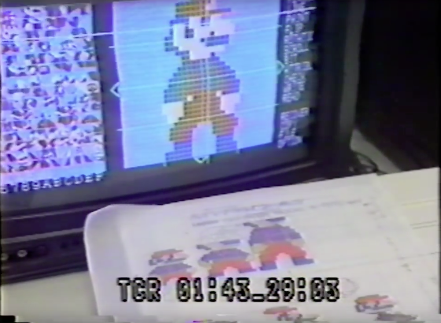 World's Earliest Images Of Super Mario Bros In Development
