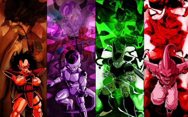 Dragon Ball Z antagonist art.