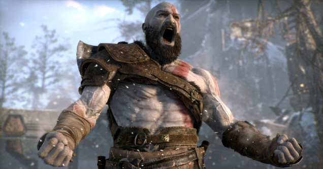 God of War kratos scream.