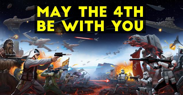 May the 4th gaming art.