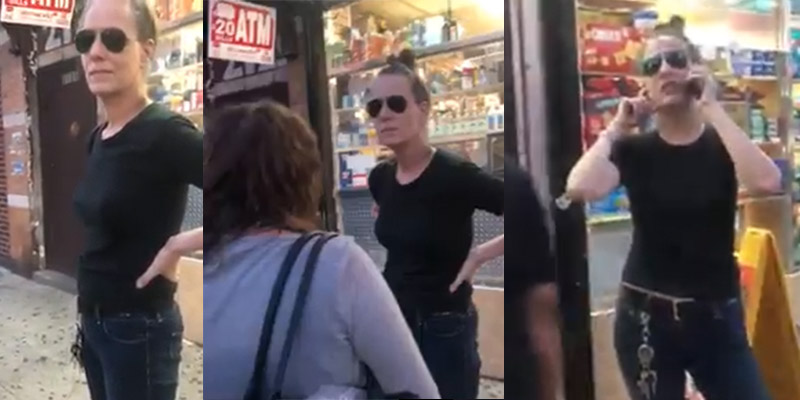 'Corner-store Caroline' Calls Cops on Little Black Boy For Grabbing Her Butt,  Security Footage Says Otherwise