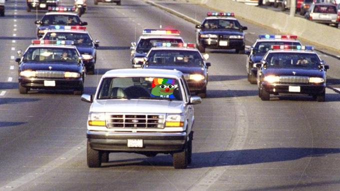 Pepe the Clown OJ Simpson meme