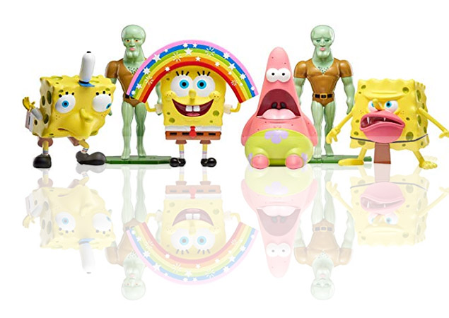 SpongeBob Squarepants meme toys for sale on Amazon and made by Nickelodeon