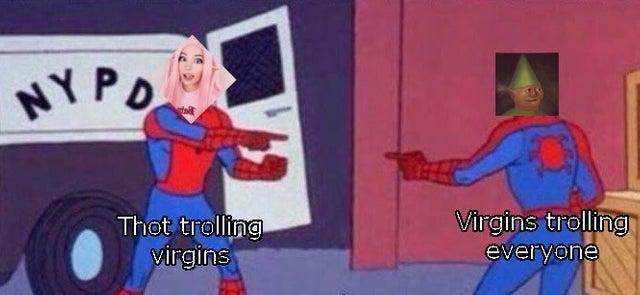Belle Delphine fake pornhub - spiderman meme.