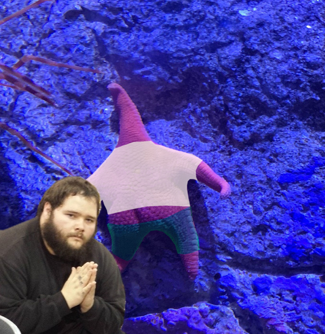 Thicc Starfish meme - praying for that ass