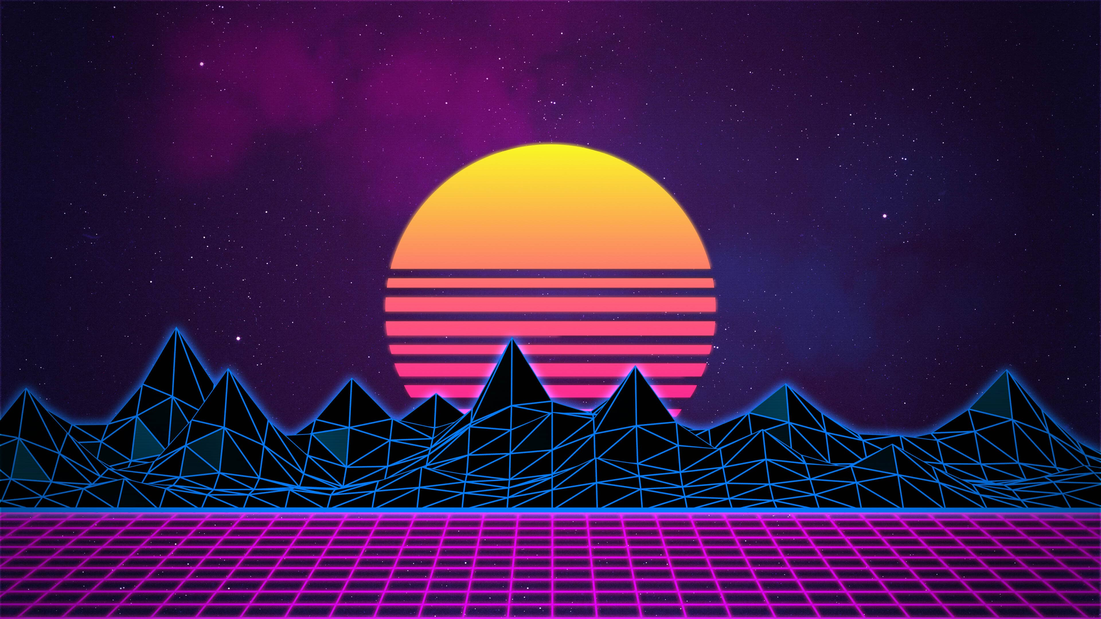 What's Up With All the Neon Pink Retro-80s Aesthetic Being