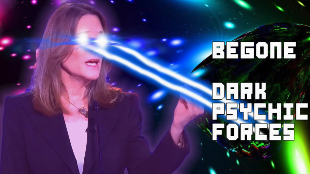 Marianne williamson memes and reactions - democratic debate night 2