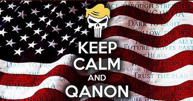 QAnon memes - keep calm And QAnon
