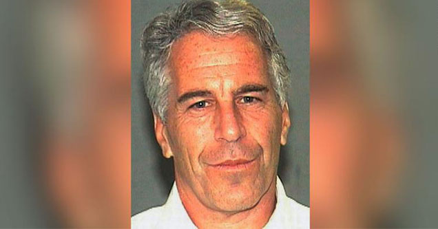 A mugshot of accused Sex Trafficker Jeffery Epstein