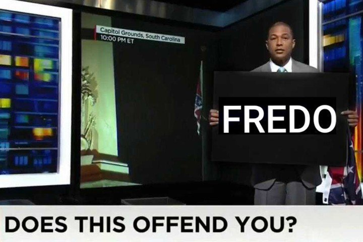 Chris Cuomo Fredo memes - Don Lemon does this offend you?