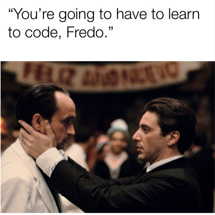 Chris Cuomo Fredo memes - your going to have to learn to code, Fredo