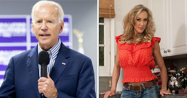 Democratic Candidates as Porn Stars - Joe Biden as Brandi Love
