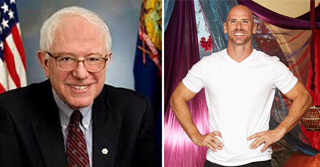 Democratic Candidates as Porn Stars - Bernie Sanders as Johnny Sins